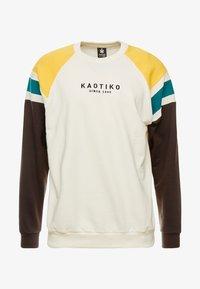 Kaotiko - Sweater - white/black - 4