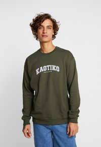 Kaotiko - Sweater - dark green - 0