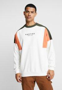 Kaotiko - Sweater - white/green - 3