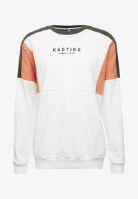 Kaotiko - Sweater - white/green - 4