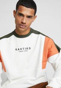 Kaotiko - Sweater - white/green - 5