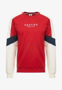 Kaotiko - Sweater - red/white - 3