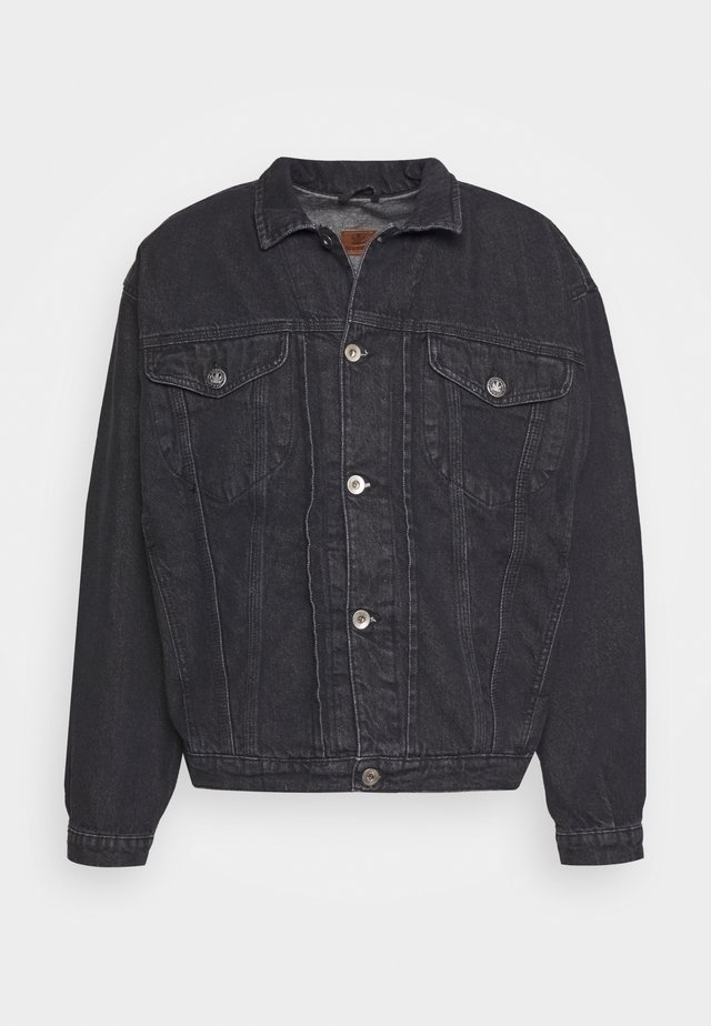 JACKET - Giacca di jeans - black