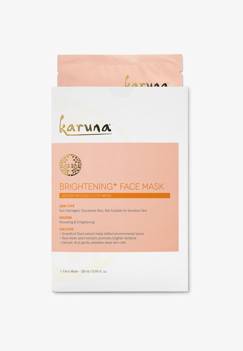 Karuna - BRIGHTENING+ FACE MASK SINGLE - Masker - -