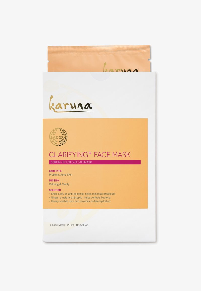 Karuna - CLARIFYING + FACE MASK SINGLE - Masker - -