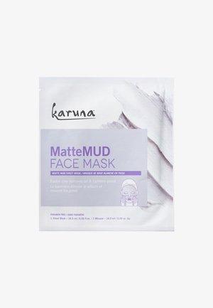 MATTE MUD FACE MASK - Ansiktsmask - -