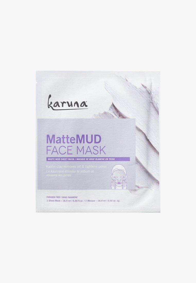 Karuna - MATTE MUD FACE MASK - Masker - -