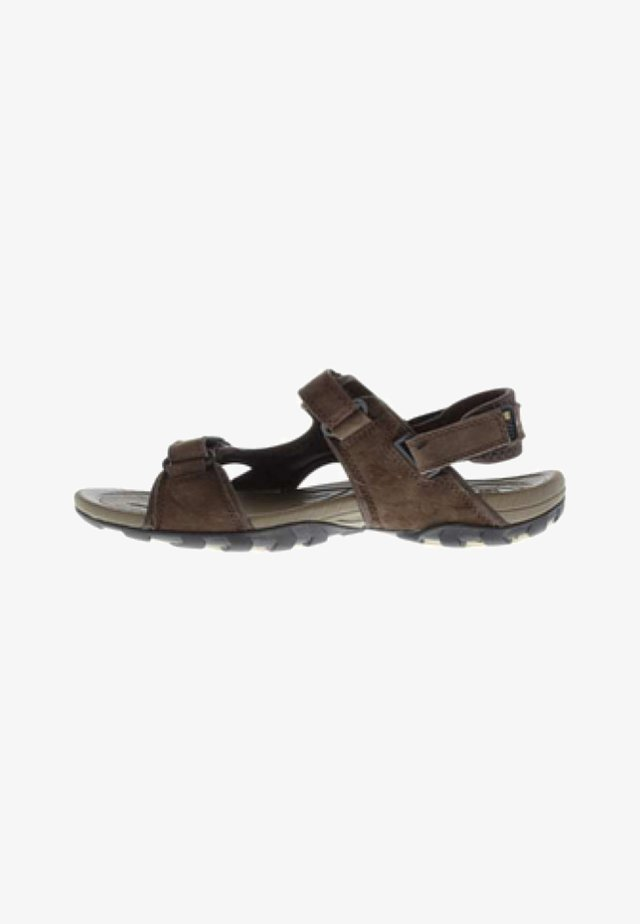 Walking sandals - brown