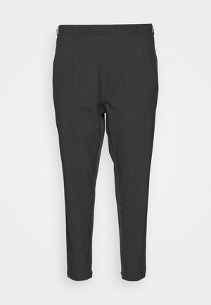 JIA PANTS - Trousers - dark grey ange