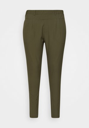 JIA PANTS - Trousers - grape leaf