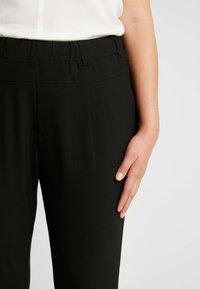 Kaffe Curve - JIA PANTS - Pantalon classique - black deep - 6