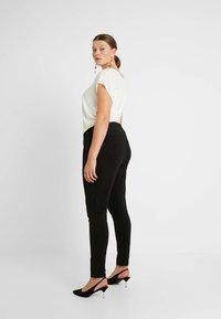 Kaffe Curve - JIA PANTS - Trousers - black deep - 3