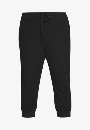 CAPRI PANTS - Pantaloni - black deep