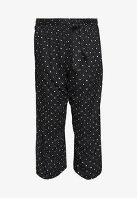 Kaffe Curve - DANKA CULOTTE PANTS - Kalhoty - black deep - 4