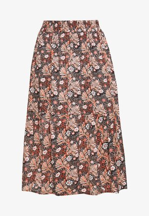 MARKA SKIRT - Maksihame - black deep
