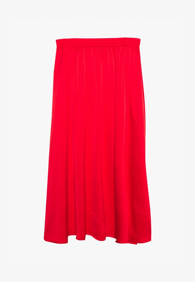 DALLI SKIRT - Jupe trapèze - high risk red