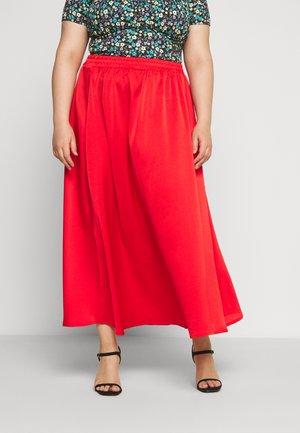 DALLI SKIRT - Áčková sukně - high risk red