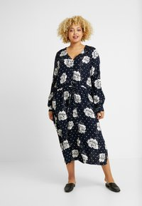 Kaffe Curve - RENA DRESS - Robe d'été - midnight marine - 0