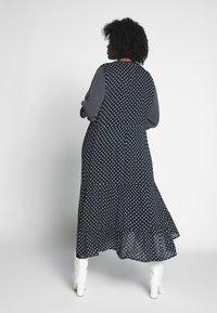 Kaffe Curve - DORA DRESS - Denní šaty - black deep - 2