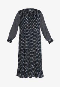 Kaffe Curve - DORA DRESS - Denní šaty - black deep - 5