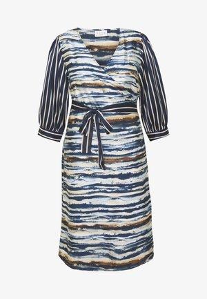 WRAP DRESS - Robe d'été - midnight marine