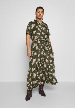 KCILONE MAXI DRESS - Maxi šaty - grape leaf