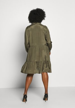 ANIKA DRESS - Shirt dress - grape leaf