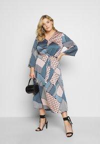 Kaffe Curve - SELLE DRESS - Day dress - midnight marine - 1