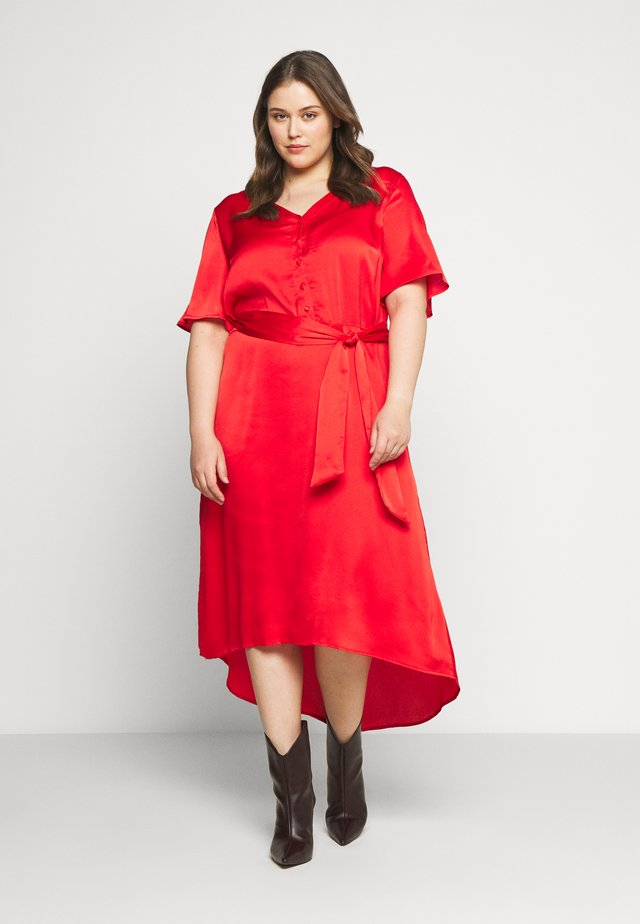 DUNE DRESS - Maxi šaty - high risk red