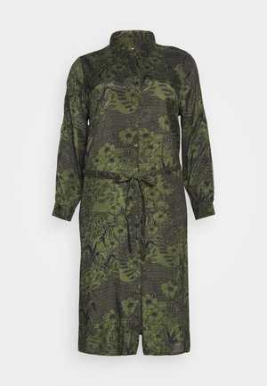 MONT DRESS - Robe chemise - grape leaf