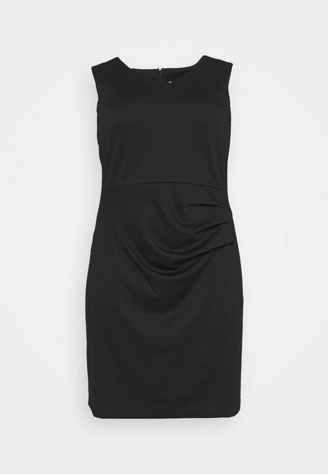 SALLY DRESS - Etui-jurk - black