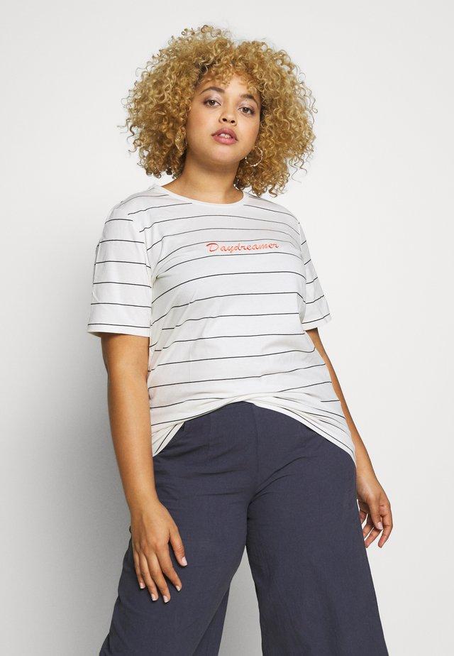 KCDITTE - Print T-shirt - chalk