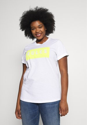 TIVA - T-shirts print - white rules