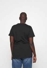 Kaffe Curve - PRILLA - T-shirts print - black electric - 2