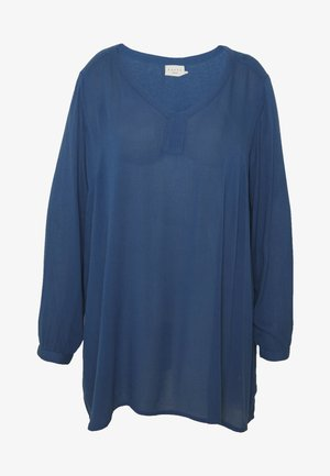 KCAMI V NECK - Tunique - true navy