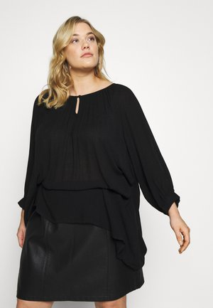 AMI TUNIC - Tunica - black deep