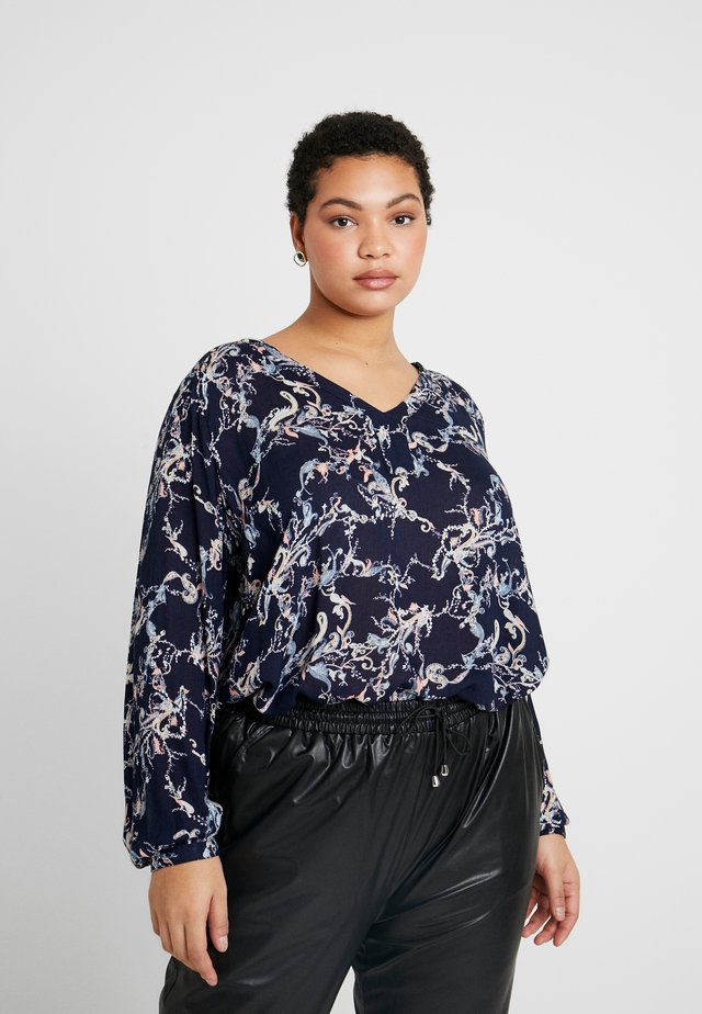 EVITA BLOUSE - Pusero - midnight marine
