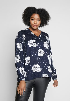 KCRENA BLOUSE - Bluse - midnight marine