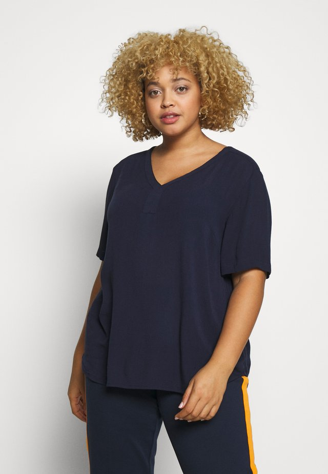 KCAMI BLOUSE - Bluzka - midnight marine