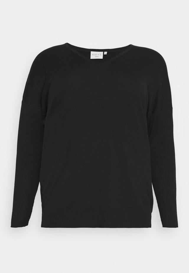 MACHI  - Jersey de punto - black