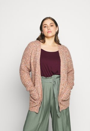 KCNANA CARDIGAN - Vest - canyon clay melange