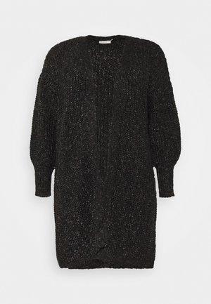 BENTE CARDIGAN - Vest - black deep melange