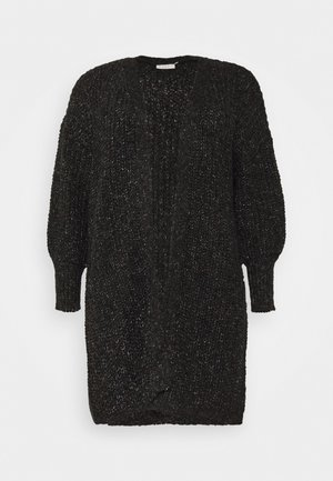 BENTE CARDIGAN - Cardigan - mottled black