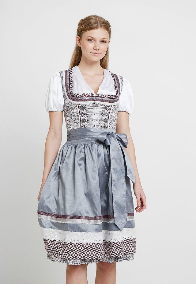 Folkedans nationaldragt Tyrol - grau