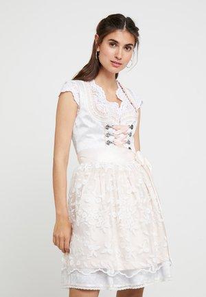 Oktoberfestklær - beige rose
