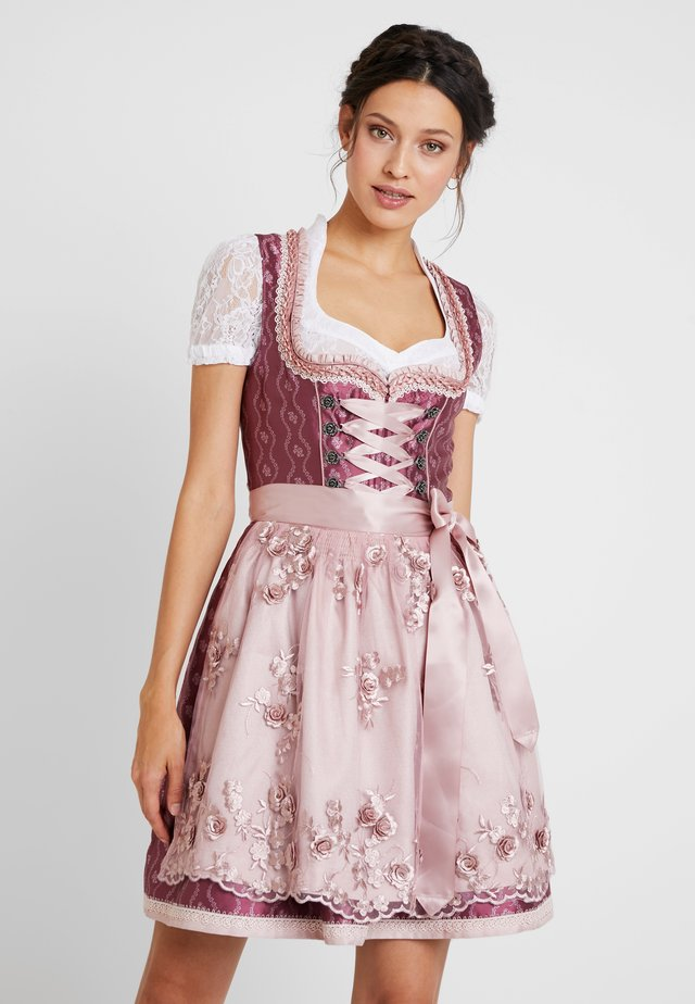 Folkedans nationaldragt Tyrol - pink