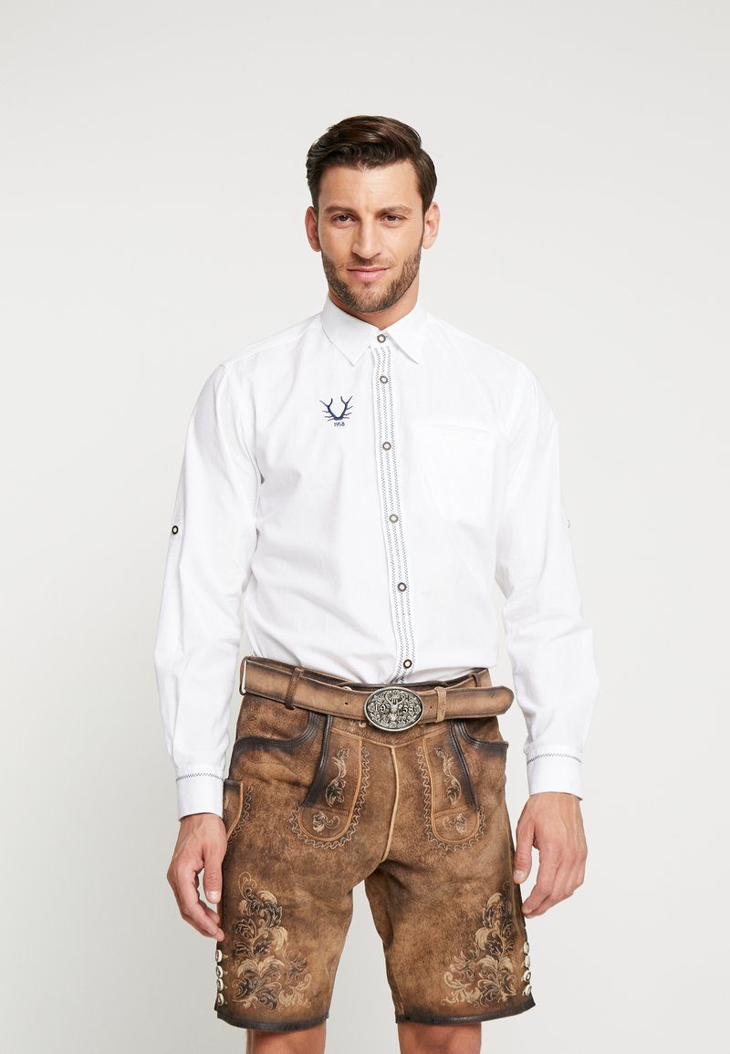 Krüger Dirndl - Shirt - white/blue