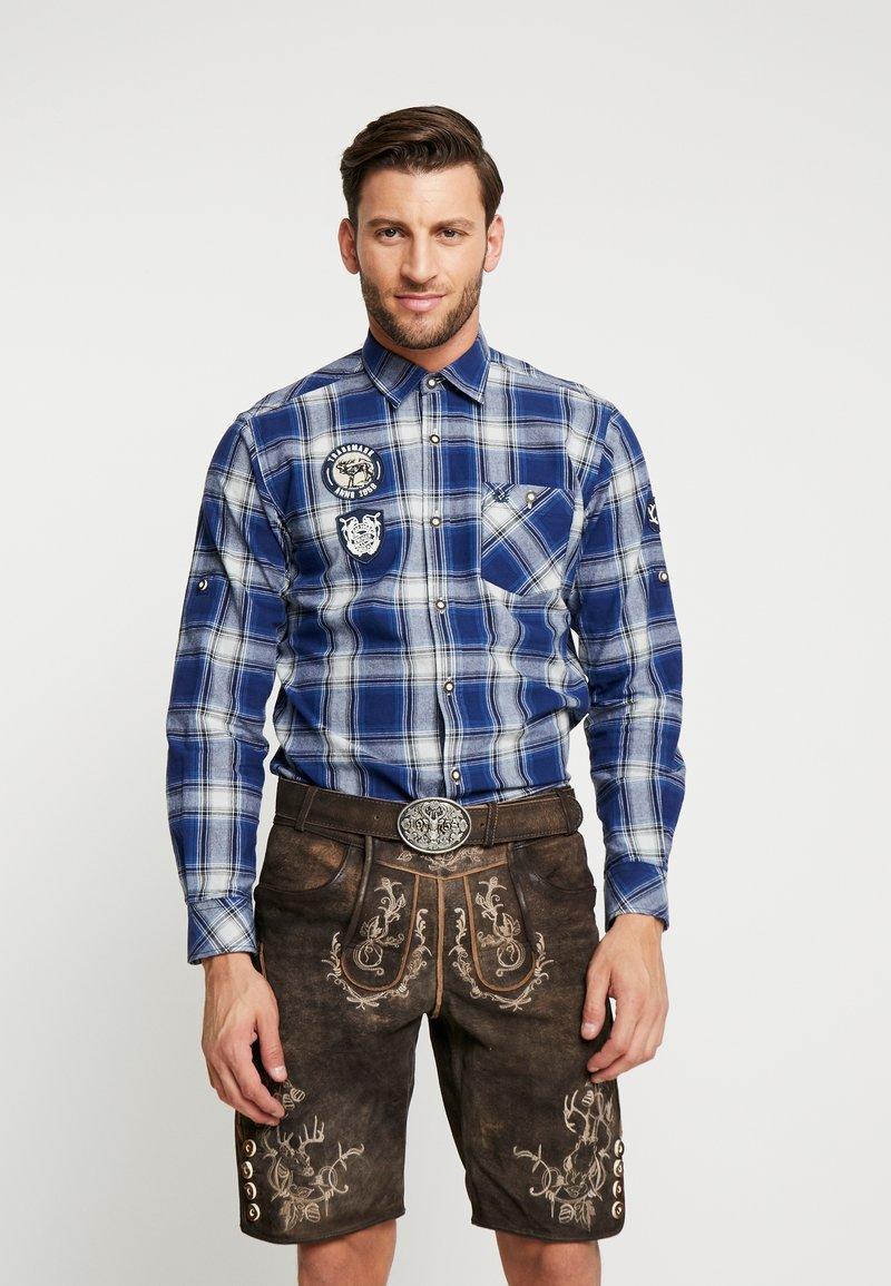 Krüger Dirndl - Shirt - blue