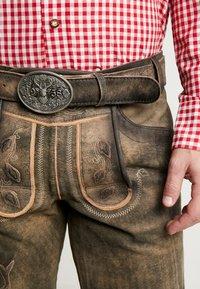 Krüger Dirndl - Kožené kalhoty - braun - 4