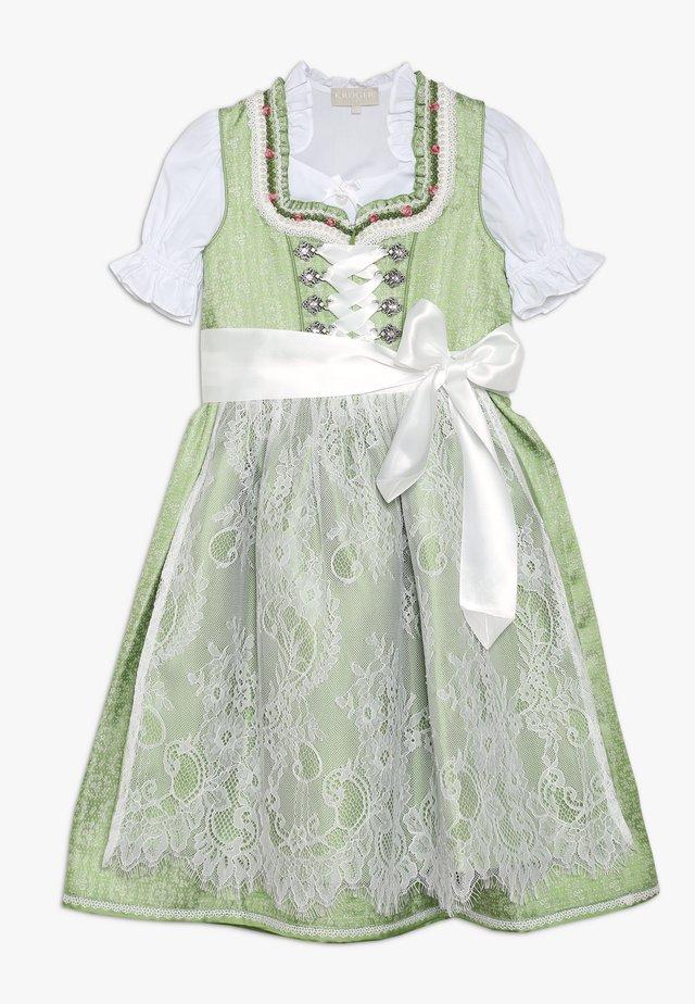 Folkedans nationaldragt Tyrol - grün